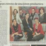 La Voz de Galicia (9-1-2015)